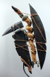 sculpture contemporaine, gryphon, didier durand