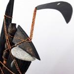 sculpture composite, hippochampêtre, didier durand