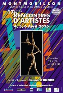 Affiche Rencontres d'artistes 15.indd