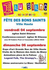 Fête des Bons Saints 2015