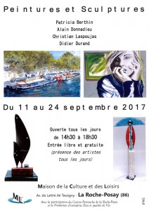 Affiche expo La Roche-Posay 2017